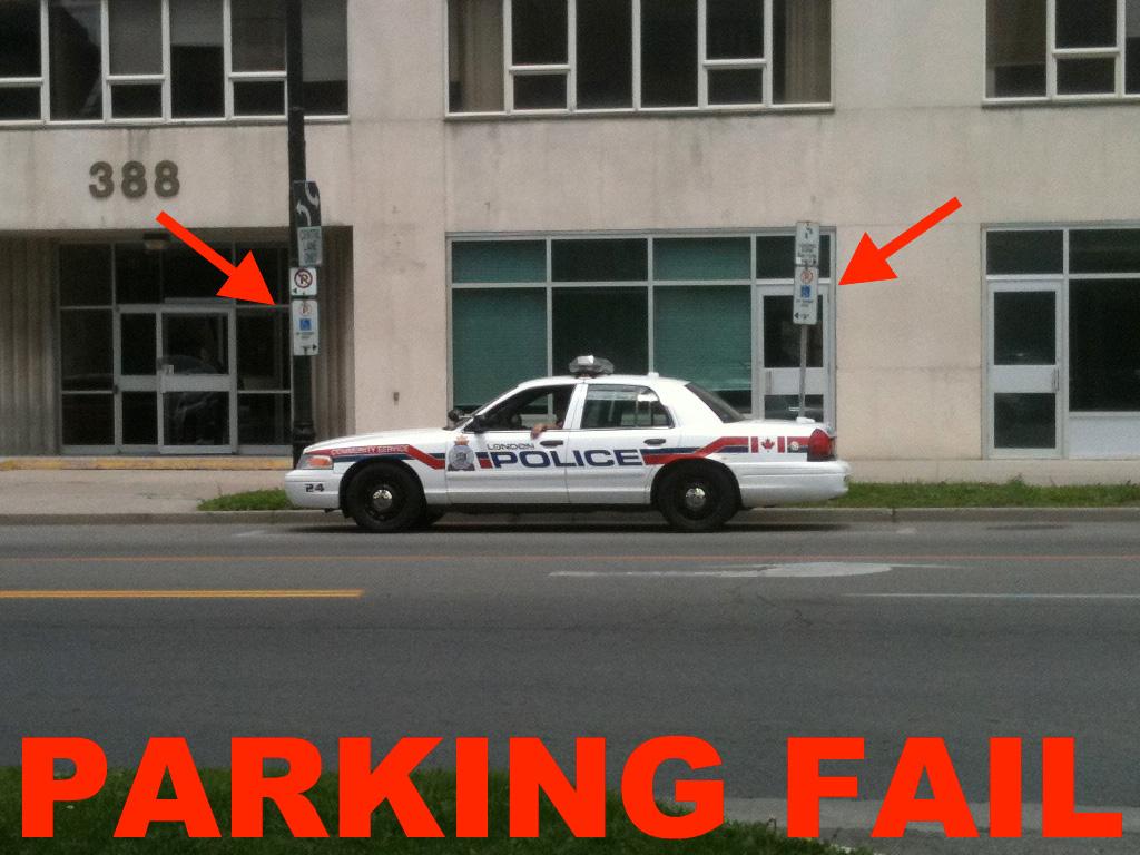 Police Accessibility Fail