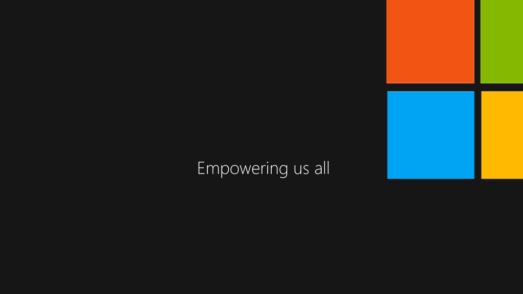 Microsoft #Empowering Campaign